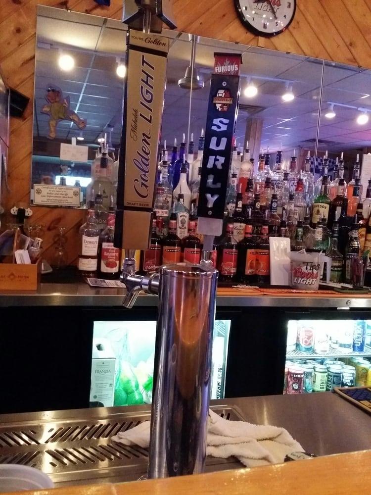 Brick's Pub & Grub: 129 Broadway St, Wrenshall, MN