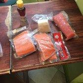 Hana japanese market 90 photos 262 reviews grocery for Sushi grade fish market