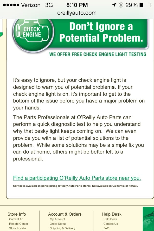 O'Reilly Auto Parts: 919 N Lake Ave, Pasadena, CA
