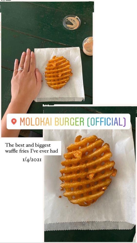 Molokai Burger: 20 W Kamehameha V Hwy, Kaunakakai, HI