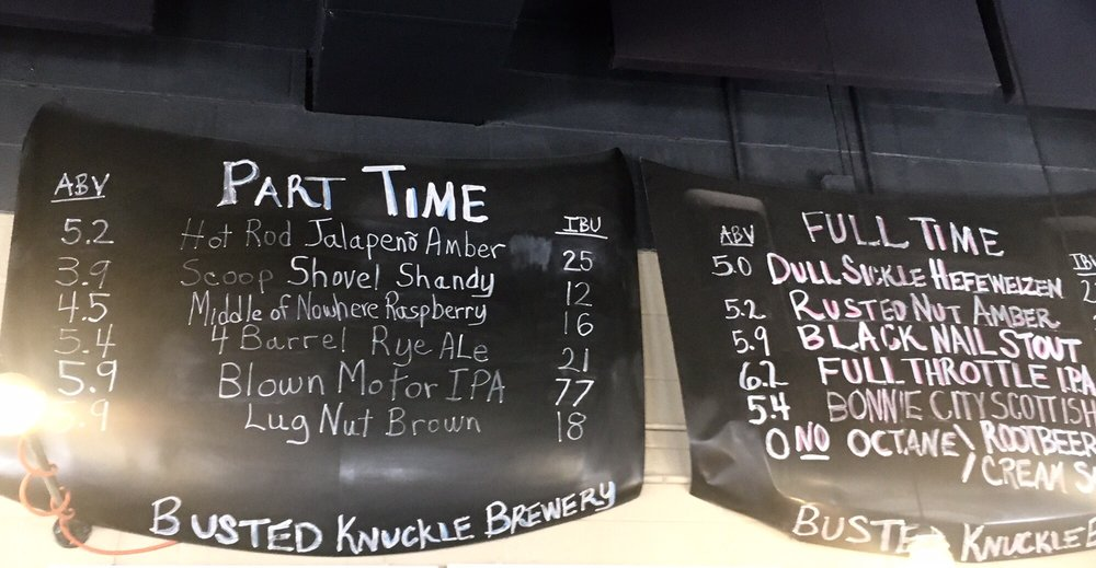 Busted Knuckle Brewery: 303 1st Ave S, Glasgow, MT