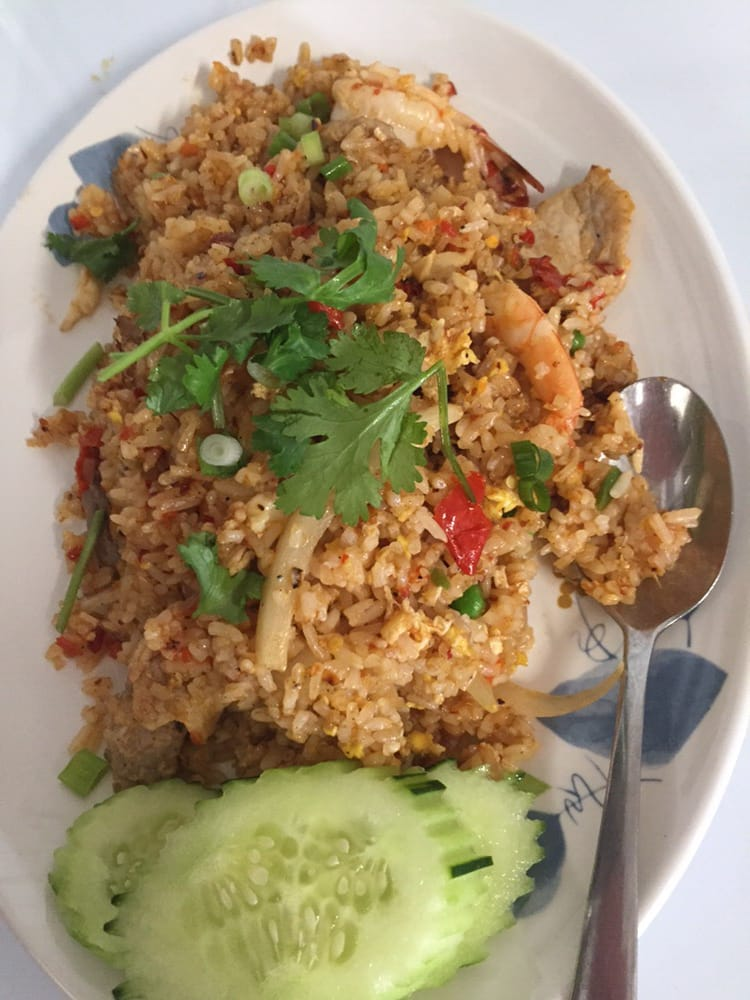 Combination fried rice you can make it spicy yelp photo of chaokoh cuisine pasadena ca united states combination fried rice ccuart Gallery