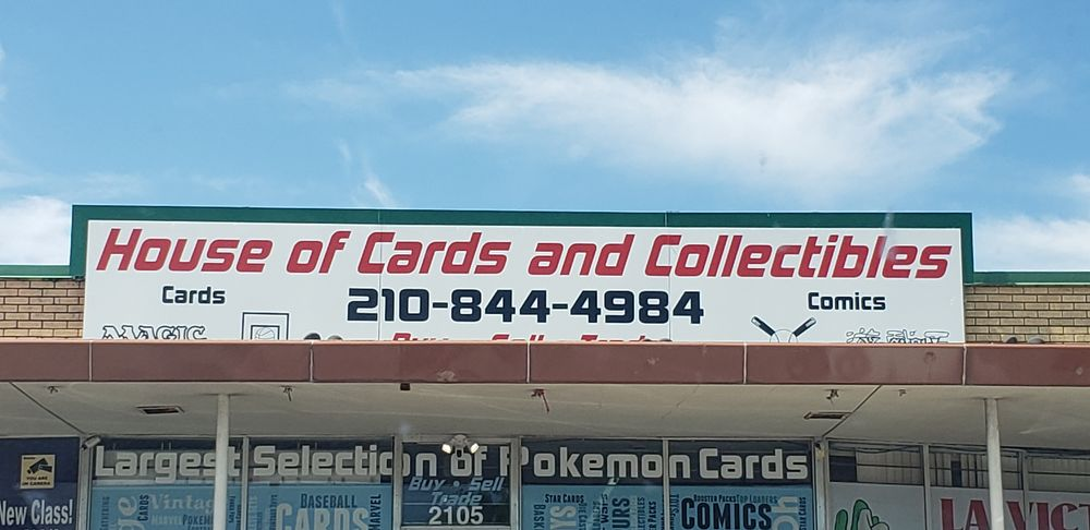 House of Cards and Collectibles: 2105 Vance Jackson Rd, San Antonio, TX