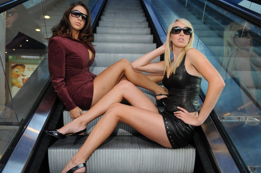 West Coast Leather Fashion Models Burgundy Suede Coat Dress And