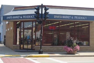 Sparta Pharmacy: 201 S Water St, Sparta, WI