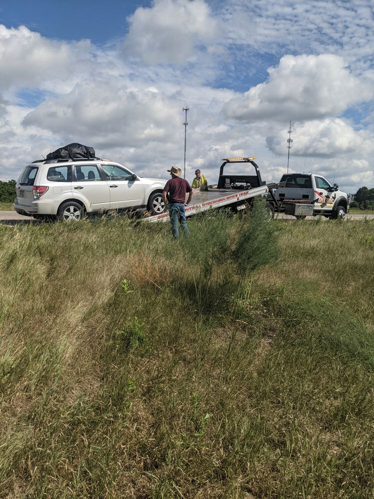 Area Wide Towing: N6477 5th Ave, Plainfield, WI