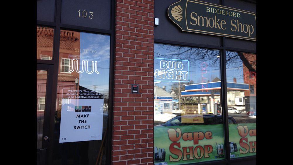 Biddeford Smoke Shop: 299 Main St, Biddeford, ME