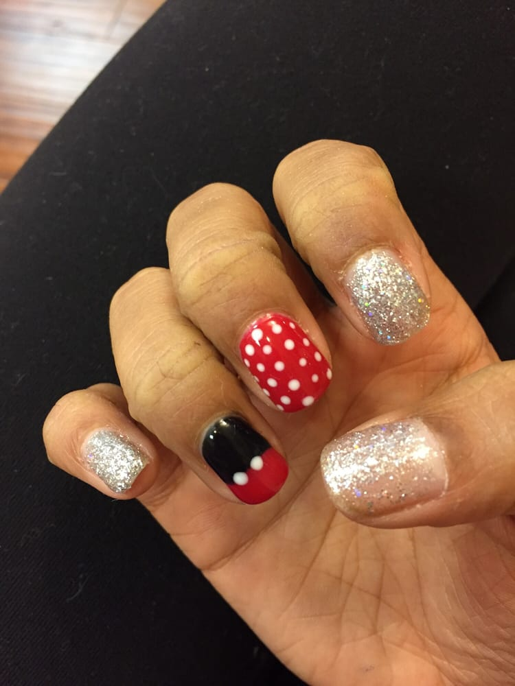 Disney Nails Designs Cost Extra Though Yelp