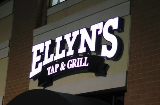 Food from Ellyn's Tap & Grill