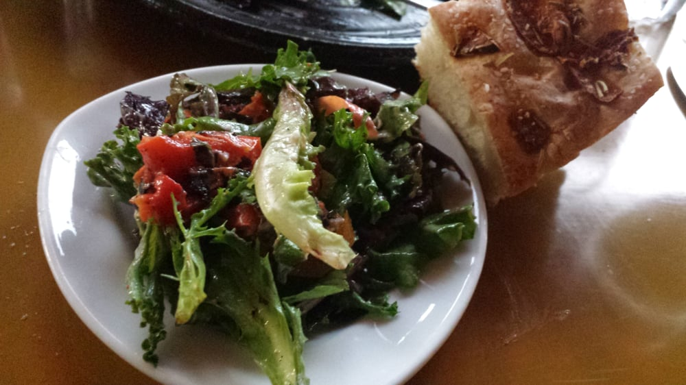 Roasted red pepper and goat cheese salad yelp for Seven fish key west fl