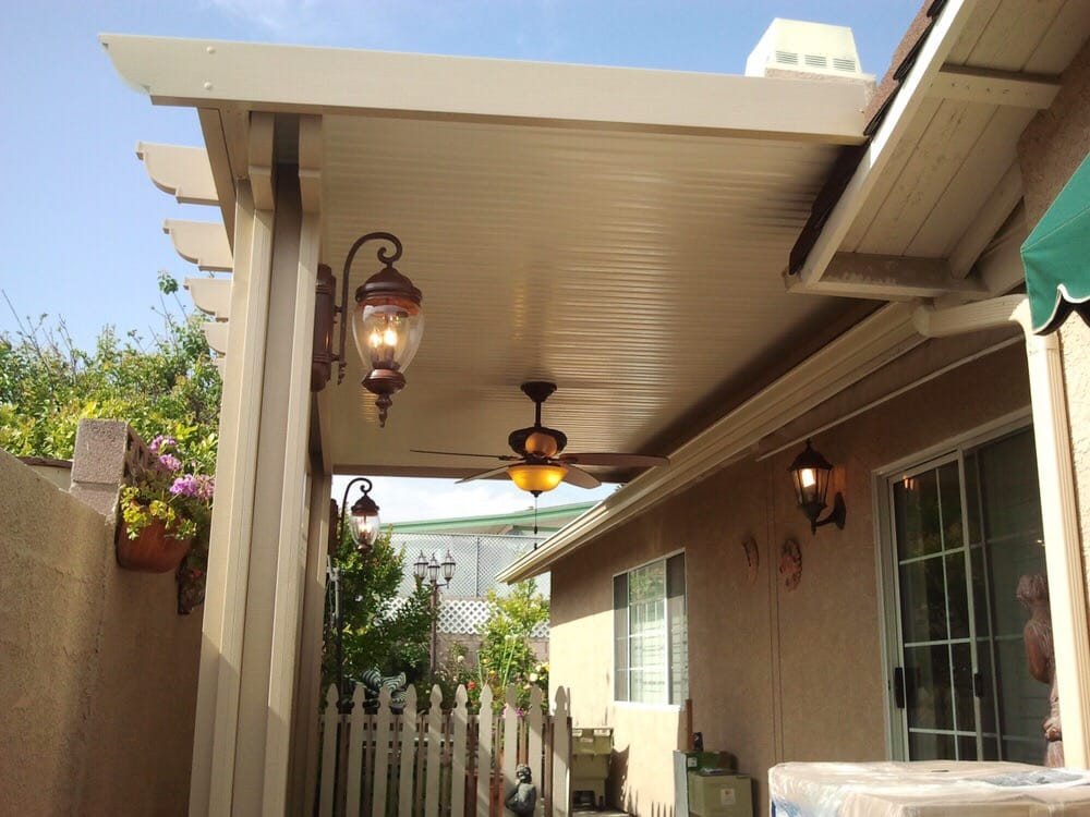 Good 14x18 Alumawood Solid Top Non Insulated Patio Cover In Eastvale   Yelp