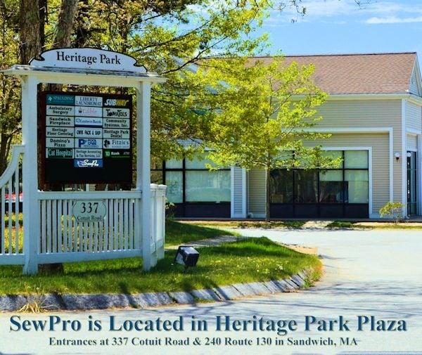 Heritage Park Plaza Cotuit Road Entrance. Just Enter Here