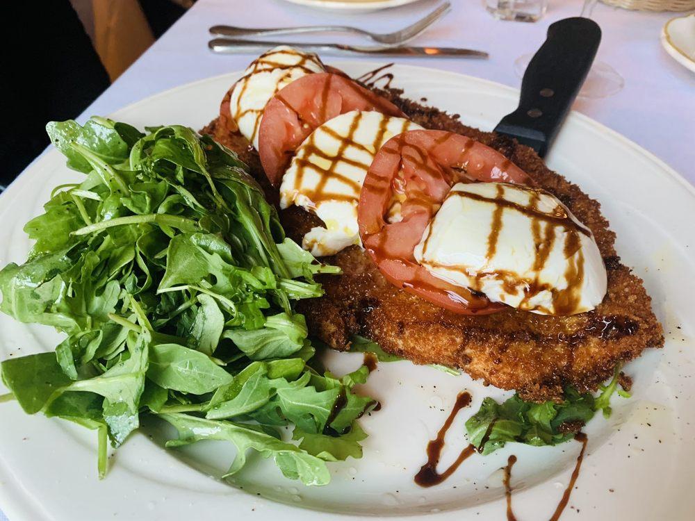 Food from D'Amelio's Italian Eatery