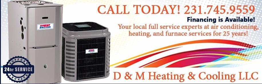 D & M Heating & Cooling: 8140 S M 37, Baldwin, MI
