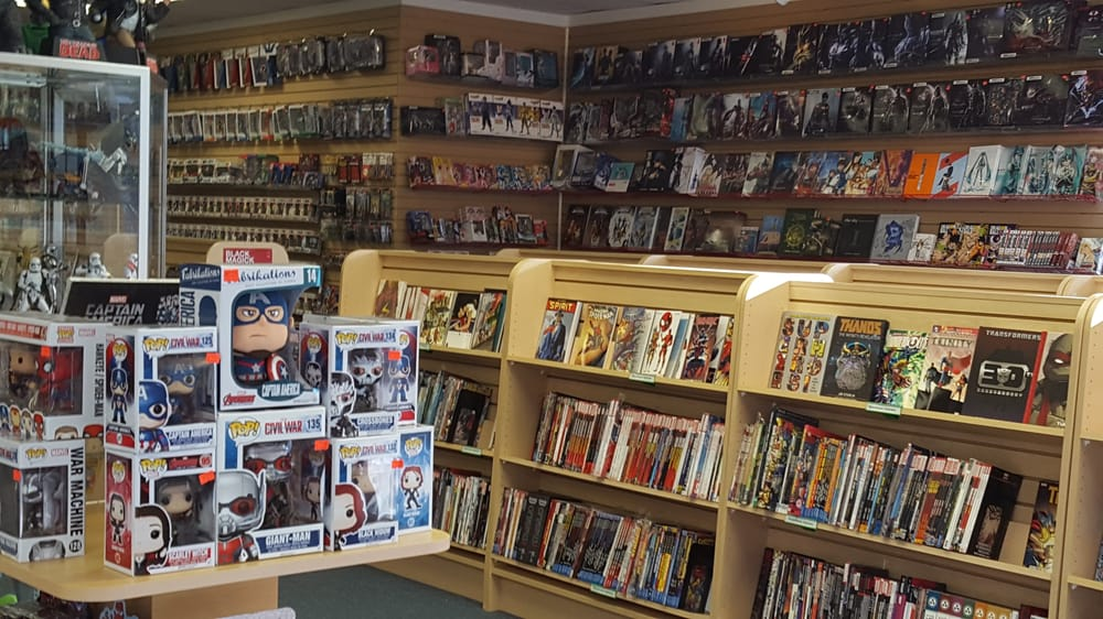 The Amazing Comic Shop: 10647 Braddock Rd, Fairfax, VA