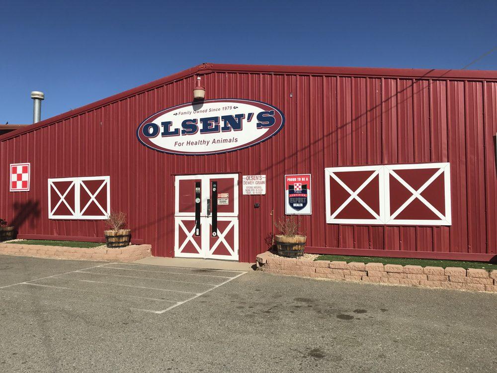Olsen's Grain: 12710 E Century Ln, Dewey, AZ