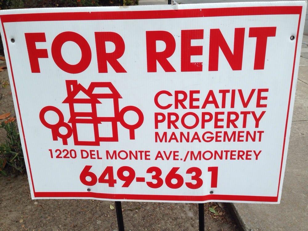 Creative Property Management In Monterey Ca