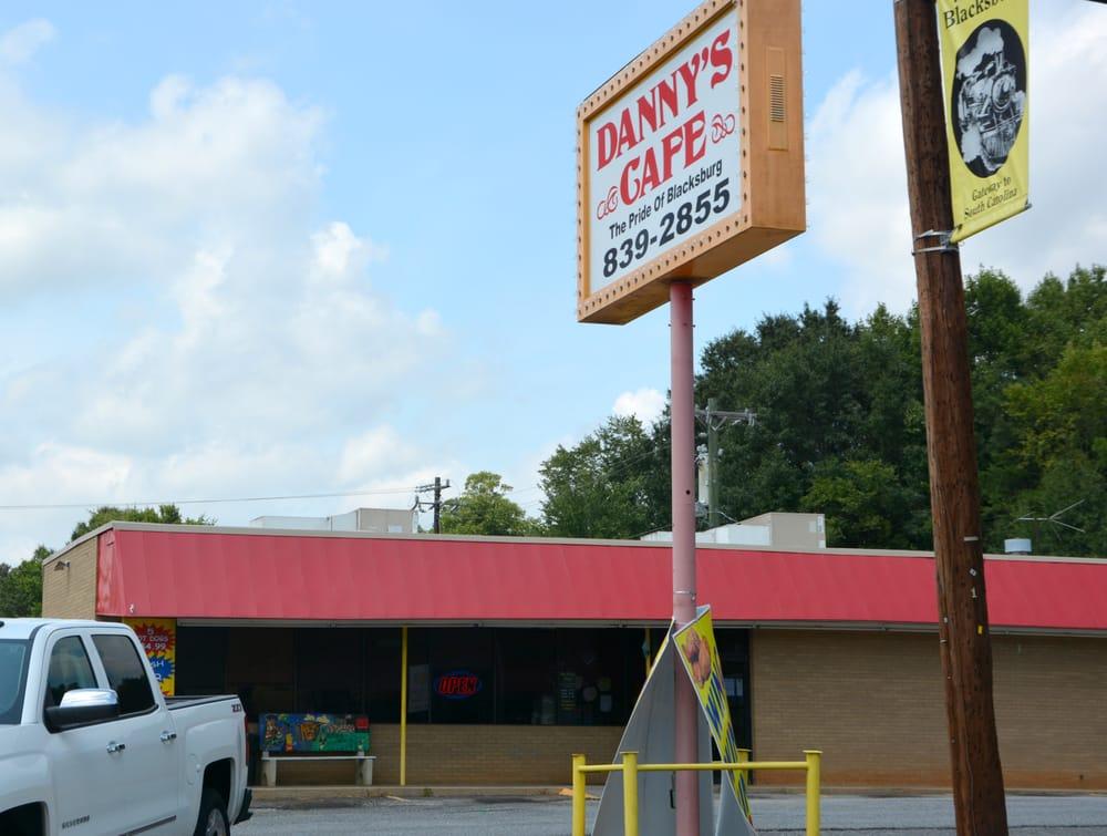 Danny's Cafe: 414 W Cherokee St, Blacksburg, SC