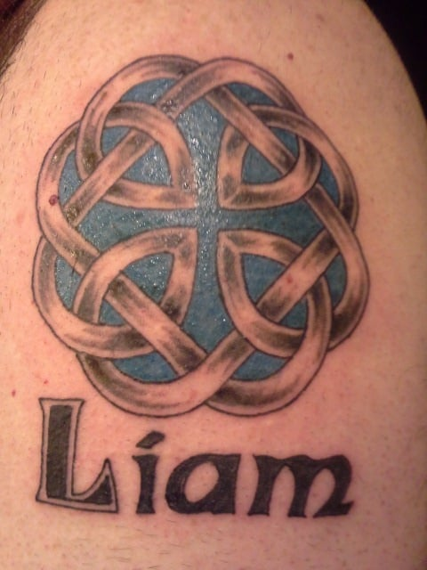 Celtic Fathers Knot And My Sons Name Done By Jaxon On 050913 Yelp