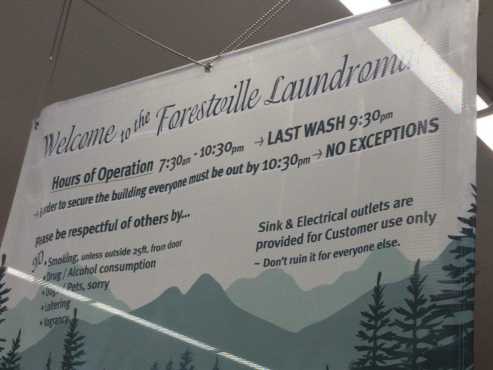 Forestville Laundromat: 6656 Front St, Forestville, CA