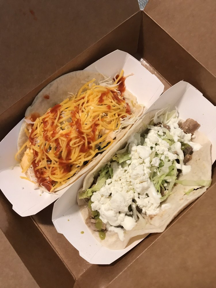 Food from Killer's Tacos