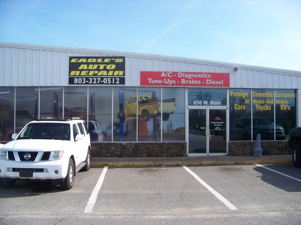 Eagle S Auto Repair Auto Repair 656 W Main St Rock