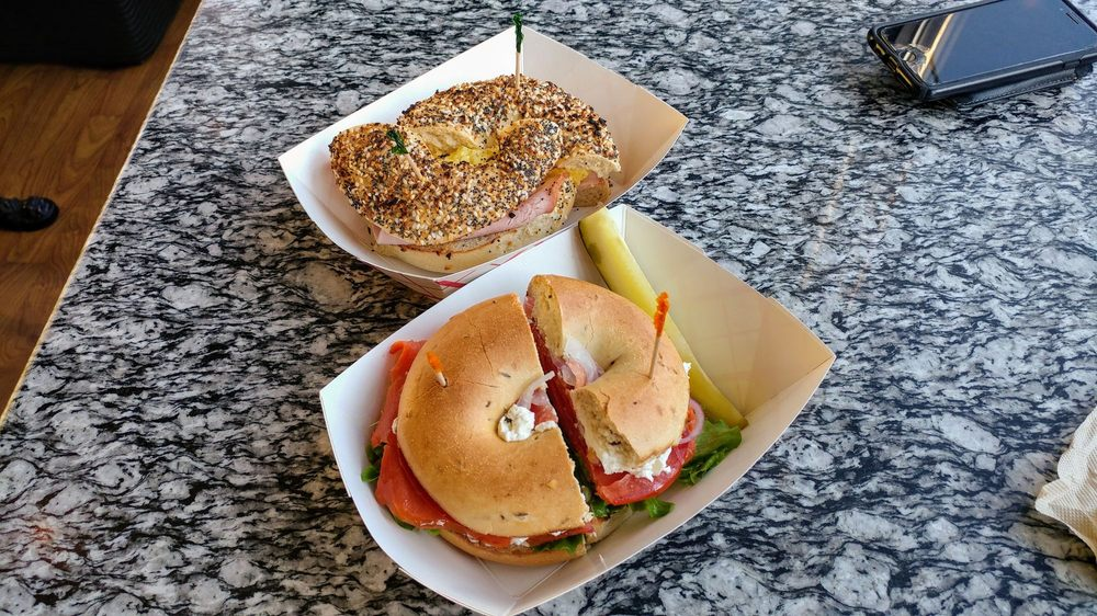 Food from The Daily Bagel
