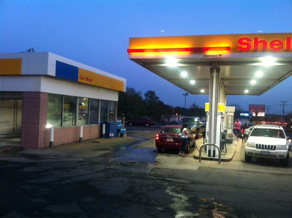 Shell Gas With Car Wash