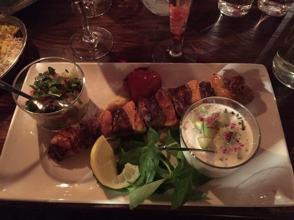 persisk mat söder