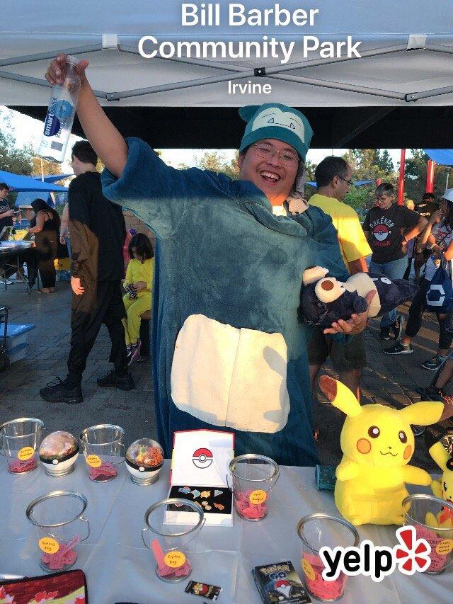 Pok 233 Mon Halloween Event Raising Money For California