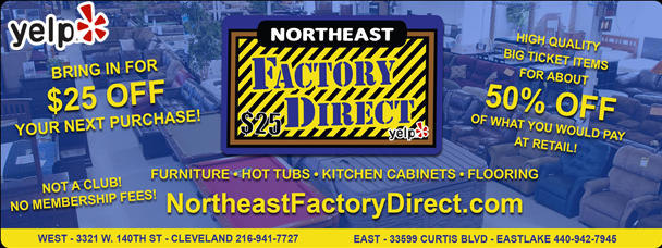 Northeast Factory Direct Gift Card