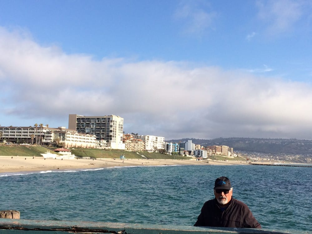 View from the pier yelp for Redondo beach fishing report