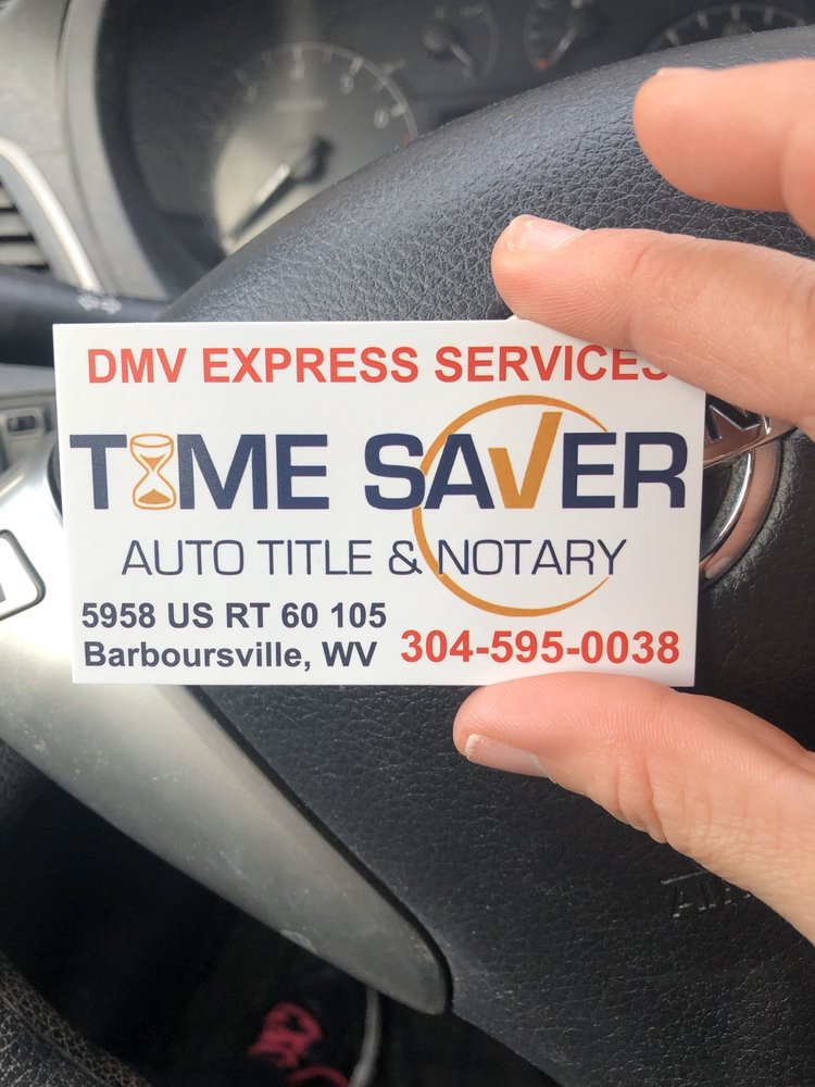 Time Saver Auto Title & Notary: Huntington, WV