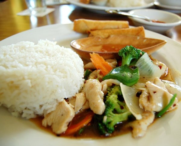 Basil chicken lunch special yelp for 5 star thai cuisine