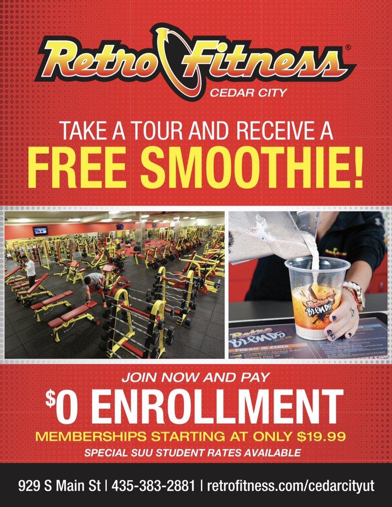 Retro Fitness - Cedar City: 929 S Main St, Cedar City, UT