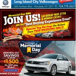 Long Island City Volkswagen 36 Reviews Car Dealers 5615 Northern Blvd Woodside Woodside