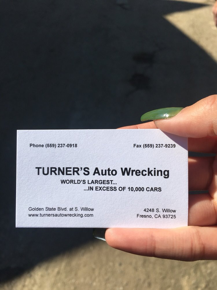 Turner\'s Auto Wrecking - Auto Parts & Supplies - 4248 S Willow Ave ...