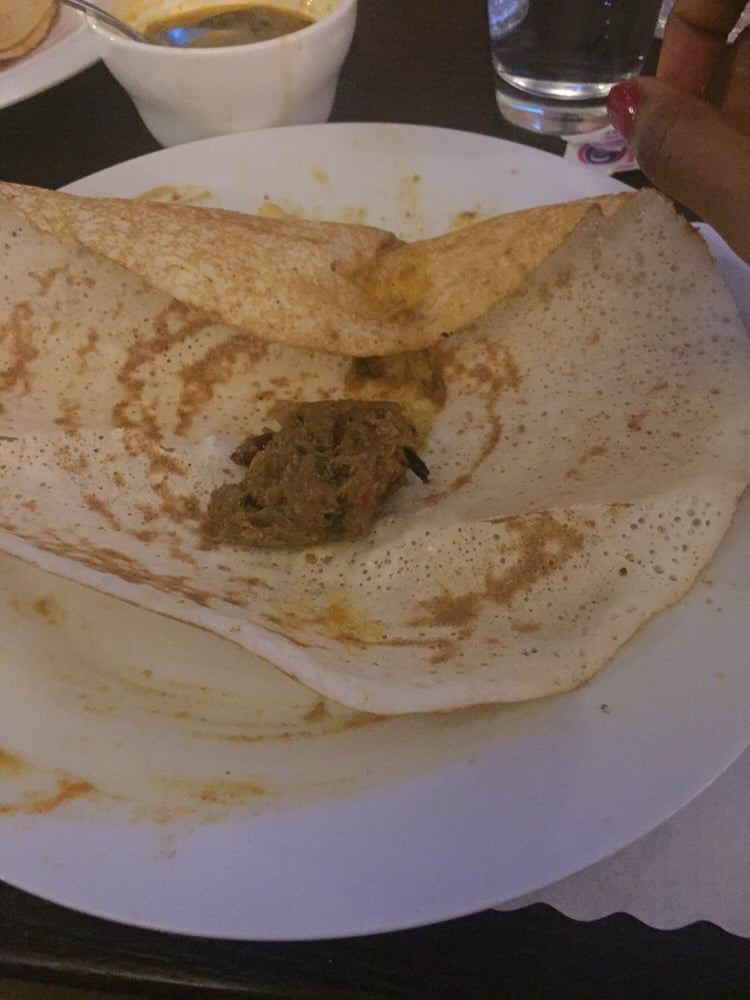 Why are they insulting us by serving this yelp for 8 elements perfect indian cuisine