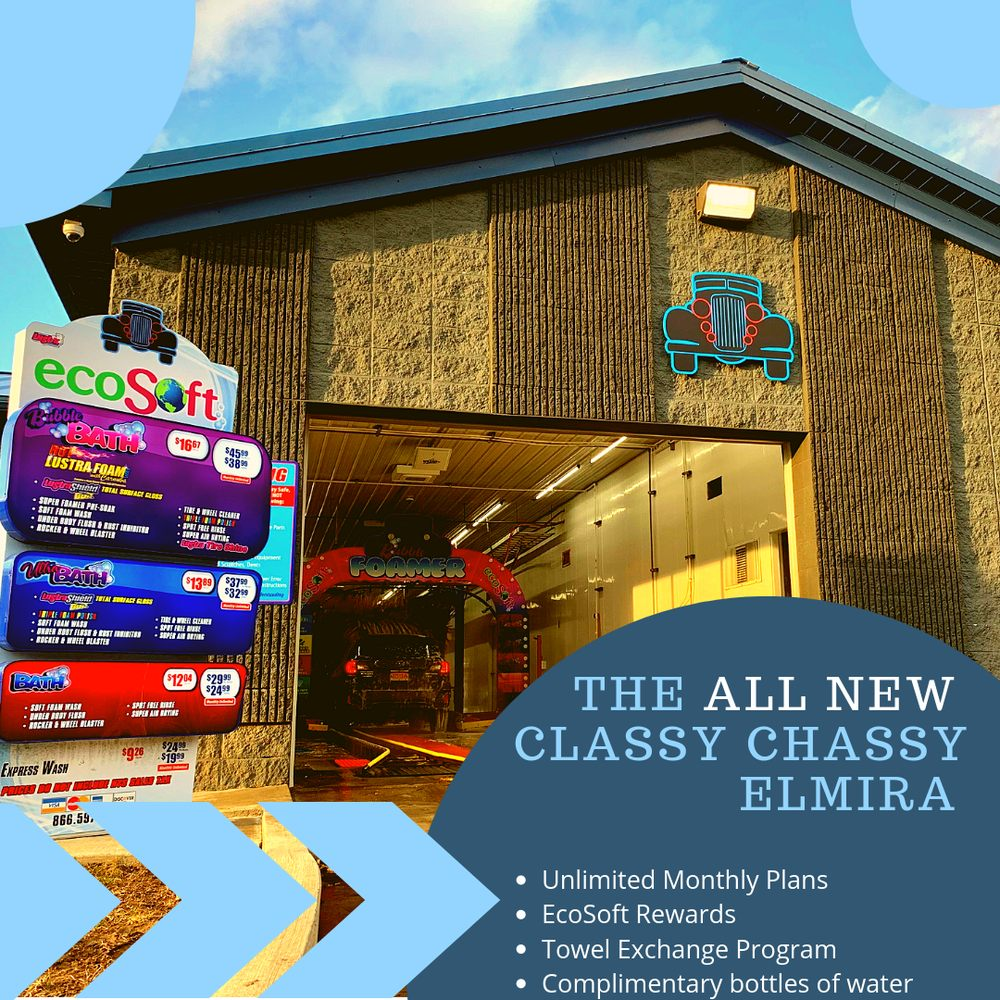 Classy Chassy Carwash: 2188 College Ave, Elmira Heights, NY