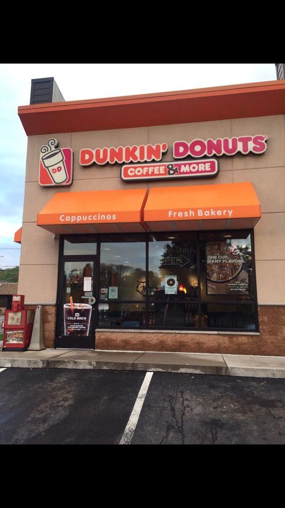Dunkin': 300 S Water St, Kittanning, PA