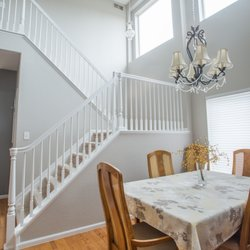 photo of walls by design littleton co united states white painted handrails