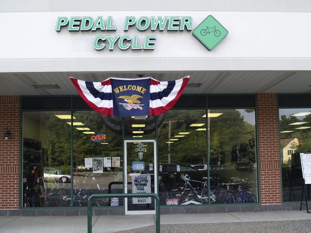 pedal power cycle storefront at market basket plaza yelp. Black Bedroom Furniture Sets. Home Design Ideas