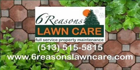 6 Reasons Lawn Care: 7364 Lake Lakota Cir, West Chester, OH