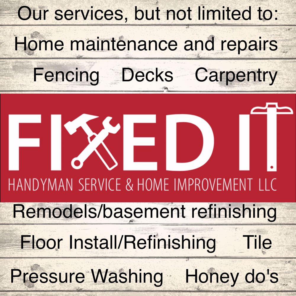 Fixed It Handyman Service & Home Improvement