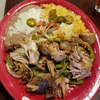 Photo Of Rancho Viejo Mexican Restaurant Batavia Ny United States Carnitas
