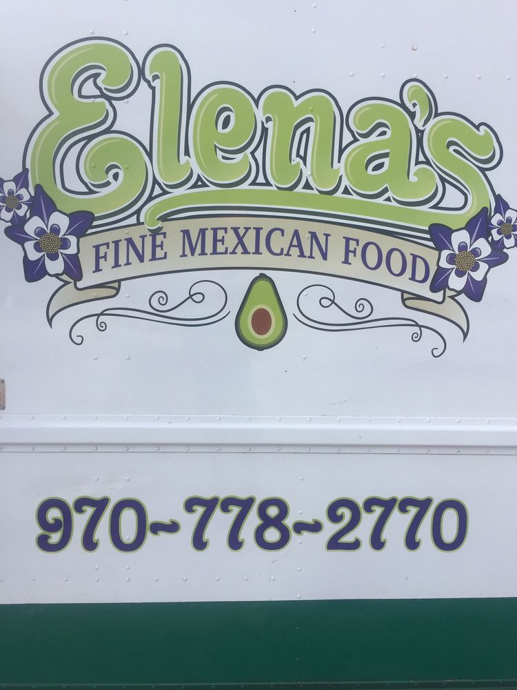 Elena's Fine Mexican Food: 201 Main St, Limon, CO
