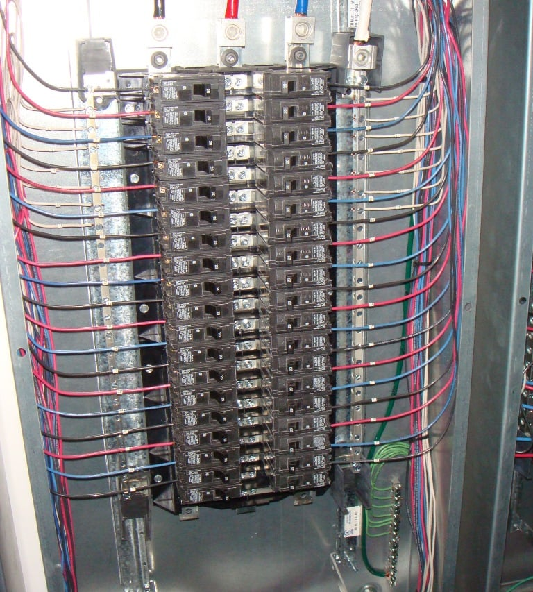 Finished Electrical Panel Yelp