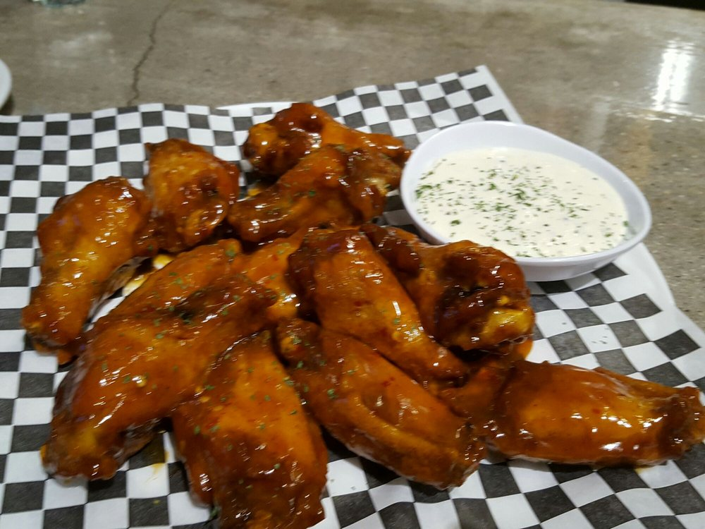 Restaurants Italian Near Me: Mango Habanero Wings. DELICIOUS.