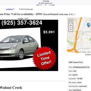 Toyota Walnut Creek   67 Photos U0026 525 Reviews   Car Dealers   2100 N  Broadway, Walnut Creek, CA   Phone Number   Yelp