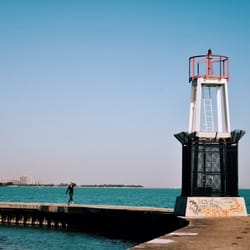 Photo Of North Avenue Beach Chicago Il United States